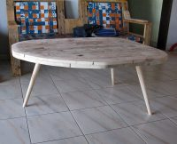 Table basse moyenne pied Rond
